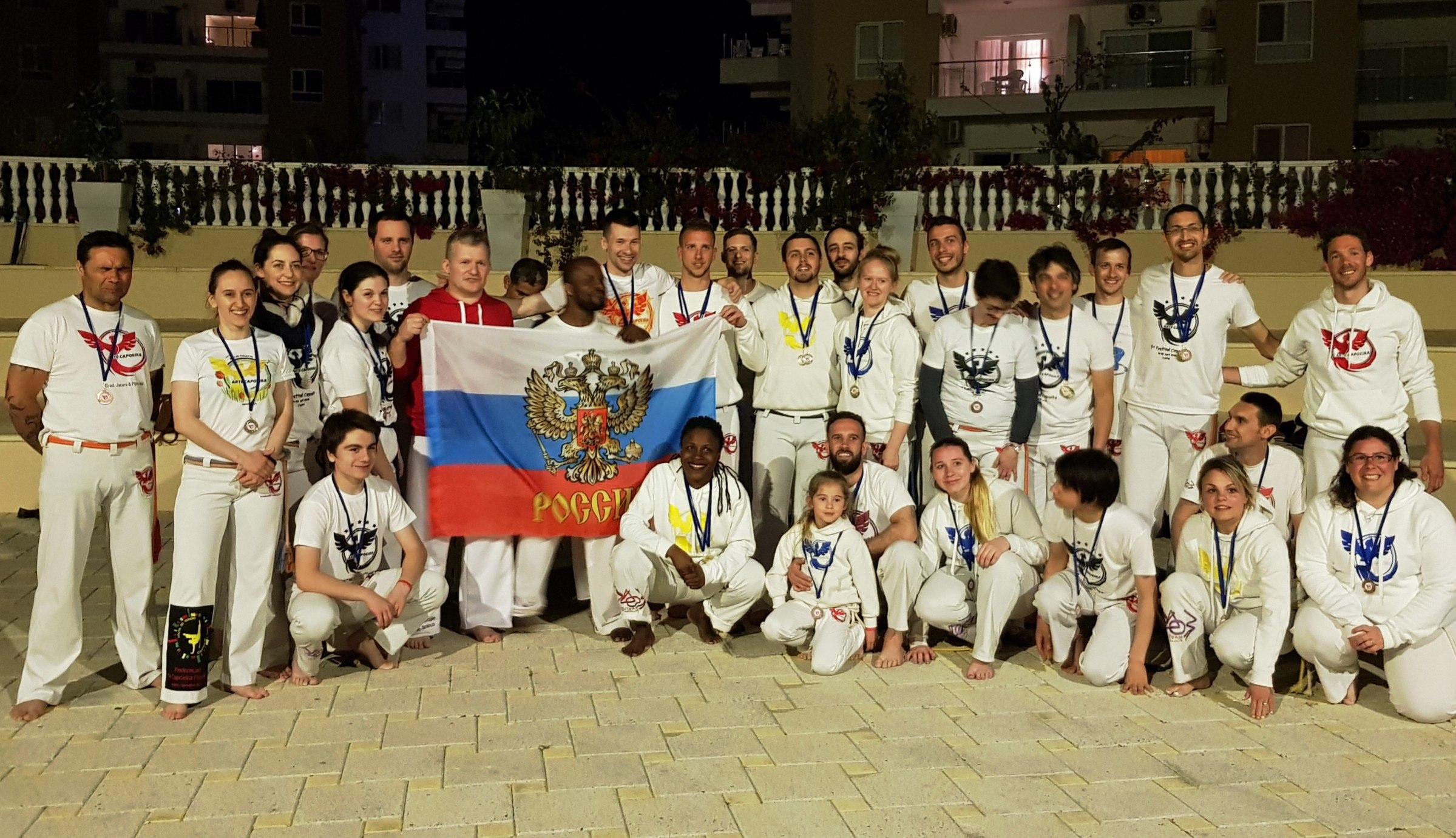 Общее фото Федерация Капоэйра Поволжья с другими участниками